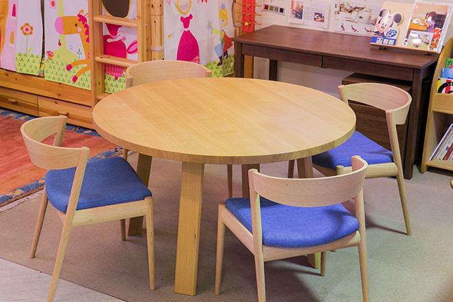 ダイニングテーブル/チェア ナラ材+オイル仕上げ
